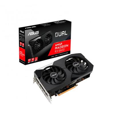 Asus Dual RX 6600 8GB - Tarjeta Gráfica