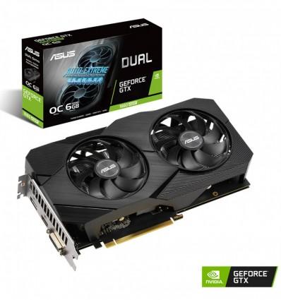 GRAFICA ASUS DUAL GTX1660 SUPER EVO OC 6GB