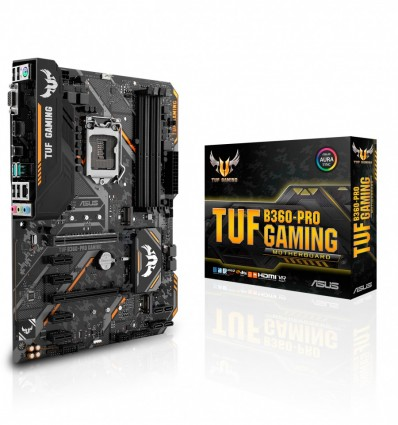 PLACA BASE ASUS TUF B360-PRO GAMING SOCKET 1151C