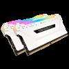 MEMORIA CORSAIR 16GB (2*8) DDR4 3200 RGB PRO BLANC