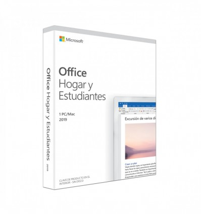 SOFTWARE MICROSOFT OFFICE 2019 HOME&STUDENT