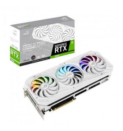 TARJETA GRAFICA ASUS STRIX RTX3080 OC 10GB BLANCA