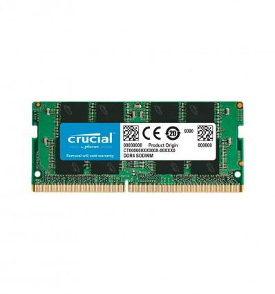 MEMORIA CRUCIAL 16GB DDR4 SODIMM 2666 CT16G4SFRA26