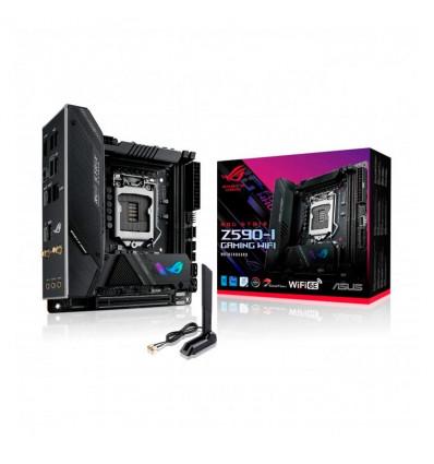 Asus ROG Strix Z590-I Gaming WIFI Socket 1200 - Placa Base