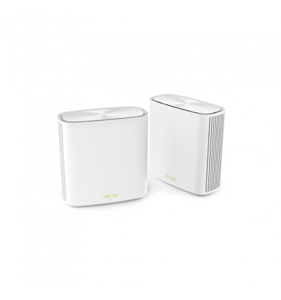 Asus ZenWiFi AX Mini (XD4) WiFi 6 AiMesh White (Pack 2)