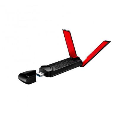 Asus USB-AC68 AC1900 Dual Band - Adaptador Wi-Fi