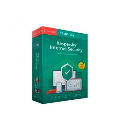 Kaspersky 2020 Internet Security 1 dispositivo - Antivirus