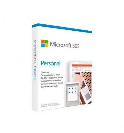 Microsoft Office 365 Personal 1 usuario - Software