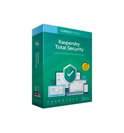 Kaspersky 2020 Total Security (5 Dispositivos) - Antivirus
