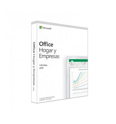 Microsoft Office 2019 Hogar y Empresas PC/MAC - Software