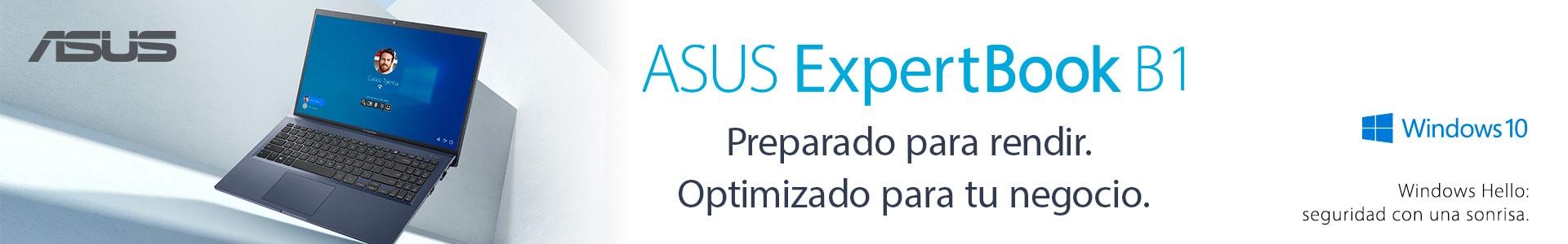 Portátiles Asus Expertbook