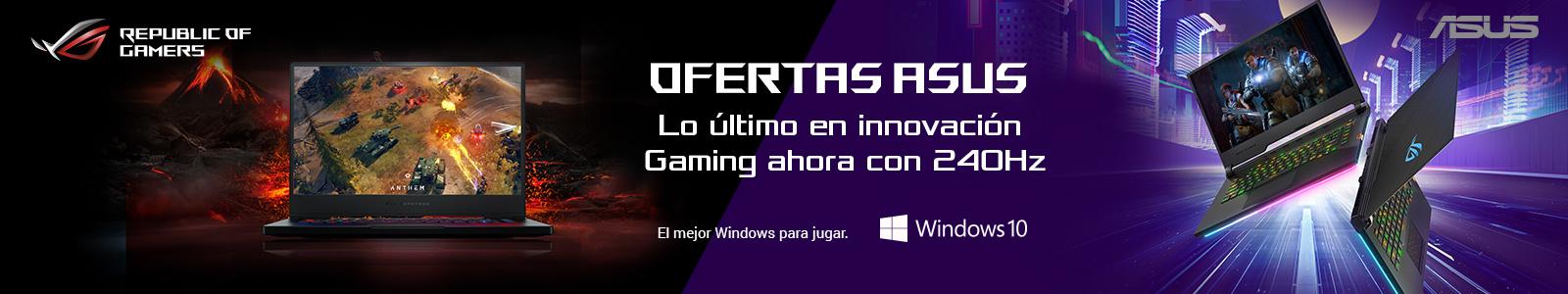 Portátil Asus Gaming